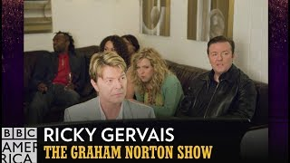 Baixar What Happened When Ricky Gervais Met David Bowie | The Graham Norton Show | BBC America