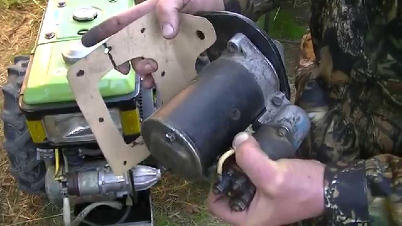 Стартер для бензогенератора своими руками