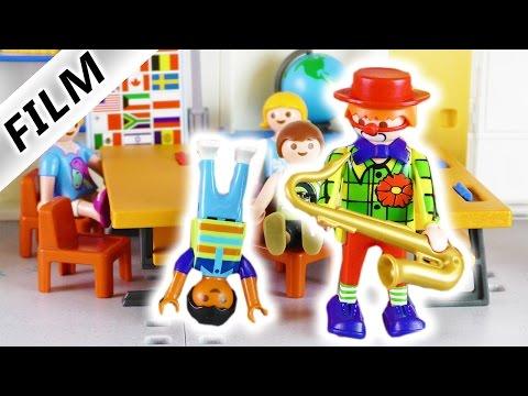 Playmobil Film Deutsch   DER ZIRKUS IST IN DER STADT! TALENTSUCHE in der Schule   Familie Vogel