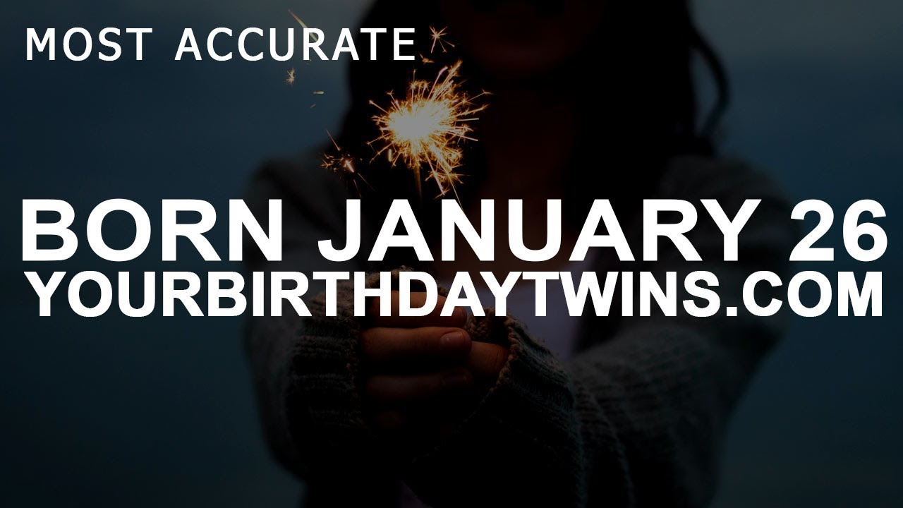 horoscope for january 26 born