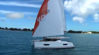 Newest Fountaine Pajot Catamaran Lucia 40