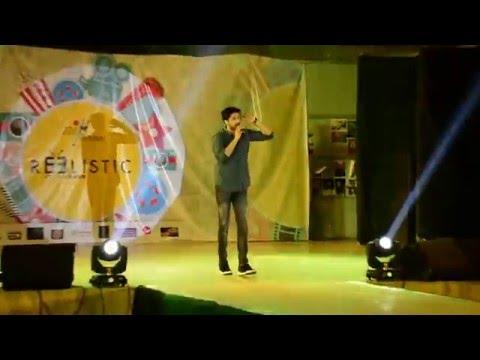 Baaki Baatein Peene Baad - Arjun Kanungo performing live at NIFT Mumbai spectrum 2016