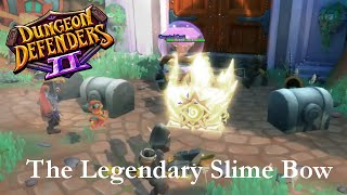 the legendary slime bow dungeon defenders ii