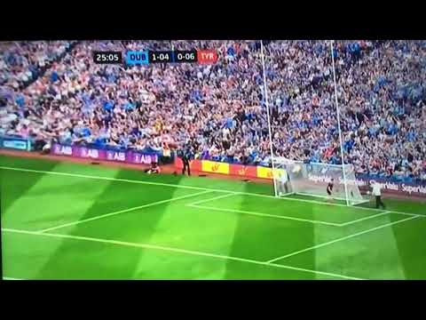 Dublin Scores All Ireland Final 2018 Point 5 Jack McCaffery
