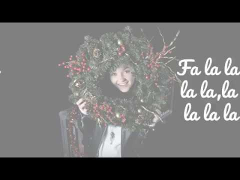 Talia Denis - Deck The Halls/Up On The Housetop (Official Lyric Video)