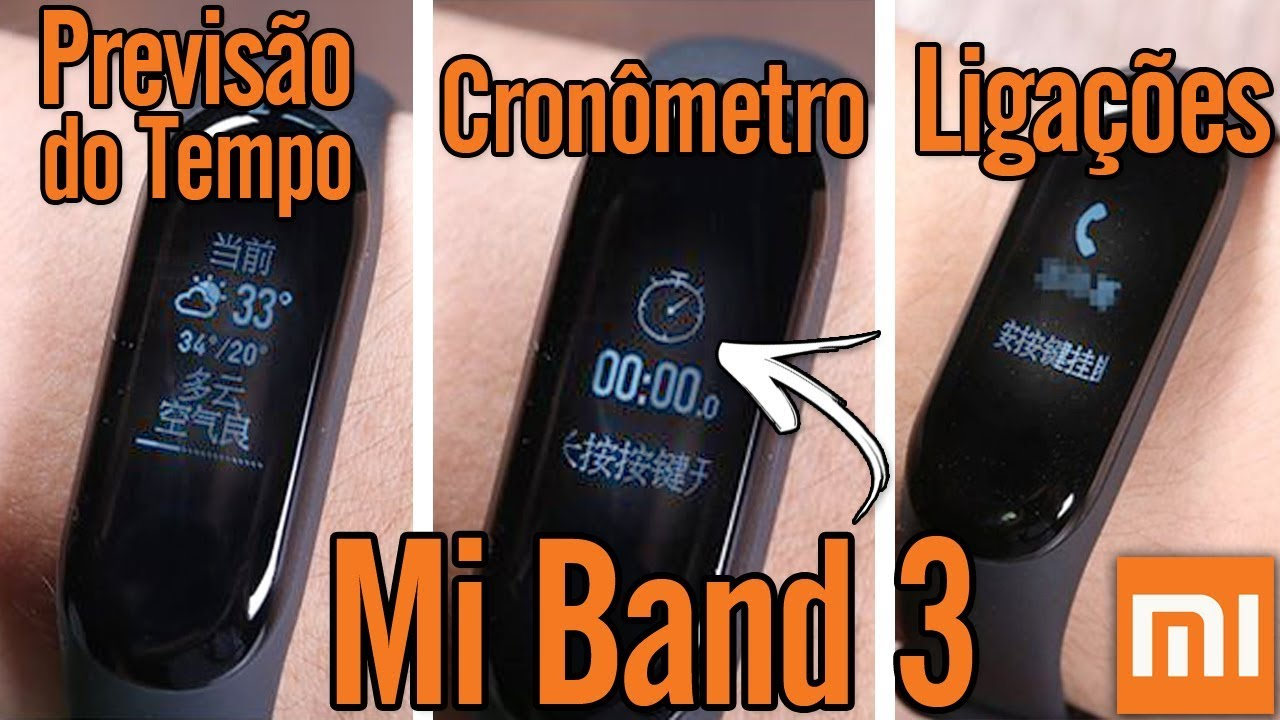 Mi Band 3 News Features
