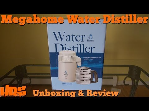 ⟹ Product Review: Megahome Countertop Water Distiller, an in depth look on distilled water