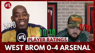 West Brom 0-4 Arsenal | I Was Right About Arteta! (DT Player Ratings).