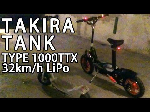 TAKIRA TANK TYPE 1000TTX CROSS COUNTRY 32km/h LiPo