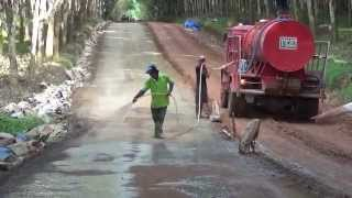 7 cbm soil stabilizer penyiraman kembali larutan cbm soil stabilizer setelah pemadatan