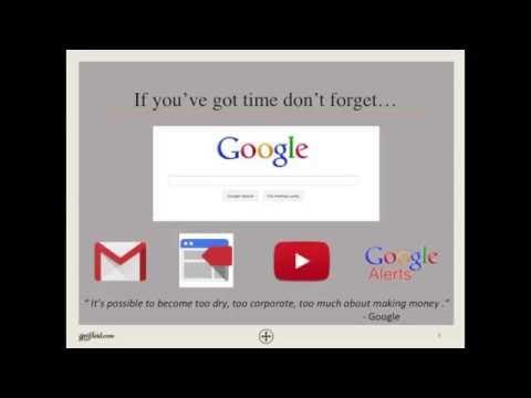 Google Marketing Tools Webinar | Fluid Advertising