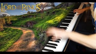 Lord of The Rings - Concerning Hobbits & Rohan (Piano)
