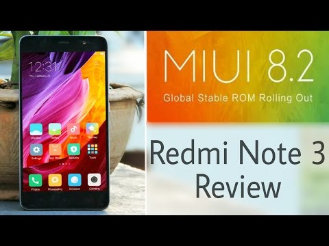 MIUI 8.2 China Stable Review on Redmi Note 3