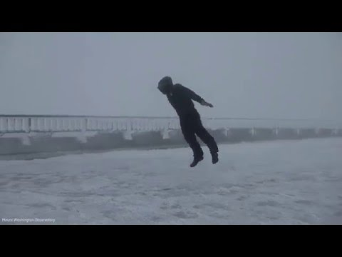 Man tossed by 109 mph winds atop Mount Washington