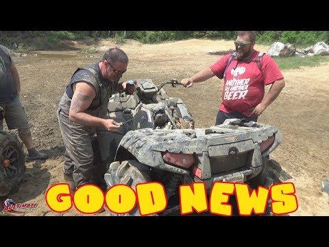 GOOD NEWS....RIDE ATV'S TO FENELON FALLS ONTARIO...LOG CHATEAU PT 9