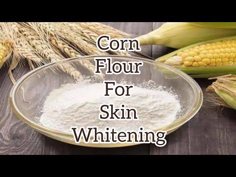 Corn Flour For Skin Whitening | How To Make Skin White At Home | Shammiz DIY