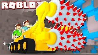 Roblox Adventures - BUILD A MEGA MINING MACHINE IN ROBLOX! (Mega Miner)