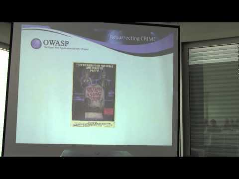 OWASP AppSec EU 2013: A Perfect CRIME? Only time will tell