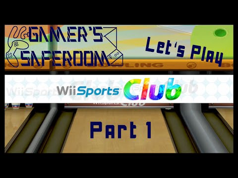 Let's Play Wii Sports Club Bowling Part 1