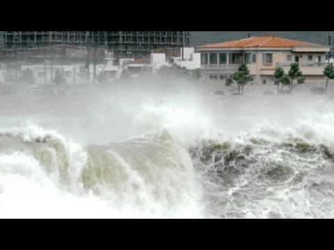 Fierce Typhoon Neoguri Threatens Japanese Island Of Okinawa