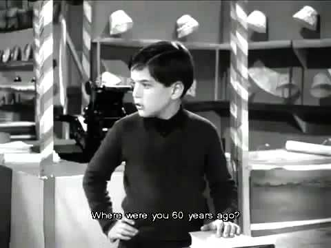 1957 A Kid Explaining To An Old Man What An Anarchist Is And Why Government Equals Violence