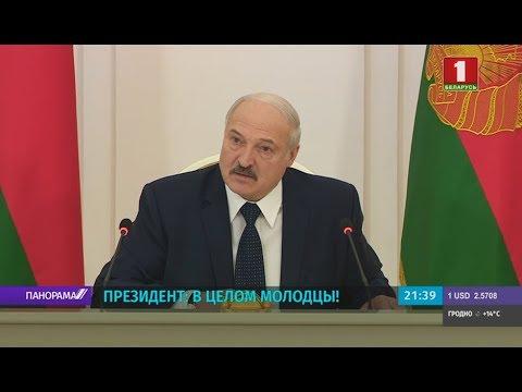 Лукашенко - Каранику: надо будет, пойдём лечить людей, только скажи, что я должен делать. Панорама
