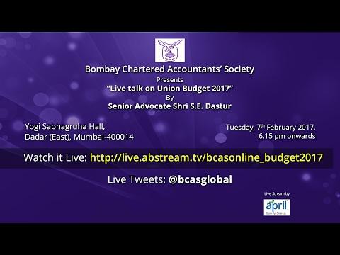 BCAS Online Budget 2017
