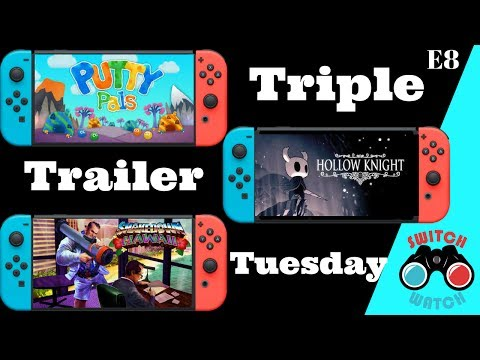 Shakedown Hawaii-Hollow Knight-Putty Pals-Nintendo Switch-Trailer Tuesday