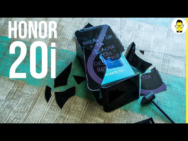 Honor 20i hammer unboxing and first look: you deserve better?