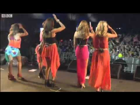 The Saturdays - Higher at T in the Park 2011