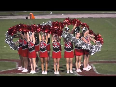 Quince Orchard HS Pom Squad 9-11-15