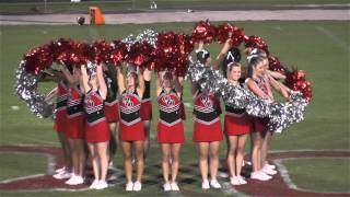 Quince Orchard HS Pom Squad 9 11 15