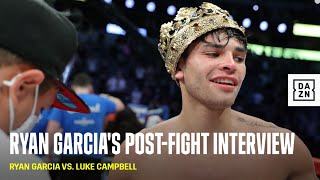 Ryan Garcia Calls Out Gervonta Davis & Devin Haney After KOing Luke Campbell