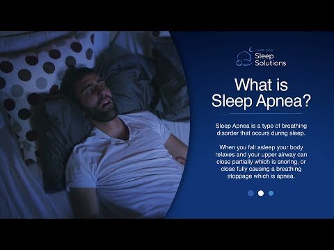 What is Sleep Apnea? (Take the 10 Second Test) I Cape Cod Sleep Solutions