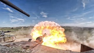 Very Epic TANK BATTLE from Online FPS Game Battlefield Bad Company 2