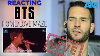 VOCAL COACH reacts to BTS - Love Maze (Live)