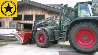 fendt 309 mit frontlader traktorfilm f r jackjack. Black Bedroom Furniture Sets. Home Design Ideas