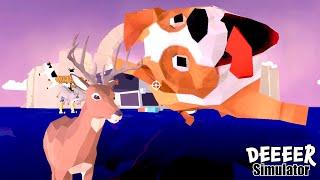 絶対に笑ってしまう「 ごく普通の鹿のゲーム 」に凄すぎるアップデートが来てた
