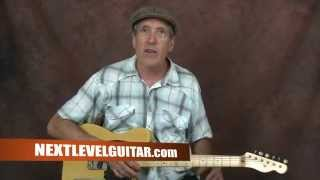 Electric Blues Slide guitar lesson Johnny Winter inspired open tuning Mojo Boogie style