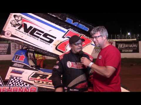 Susquehanna Speedway Super Sportsman Victory Lane 06-11-16