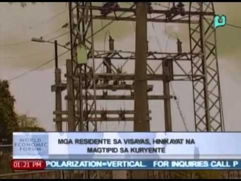 News@1: VECO, hinikayat ang residente sa Visayas na magtipid ng kuryente    May 23, 2014