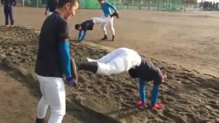 花咲徳栄名物「砂場トレーニング」(2)