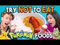 Try Not To Eat Challenge - Pokemon Food | People Vs. Food