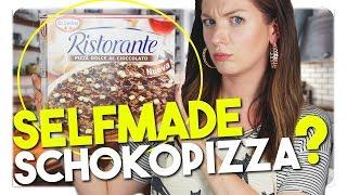 ORIGINALE SCHOKOPIZZA VS SELBSTGEMACHT l Kalorienbombe l FAKE VS ORIGINAL Selfmade