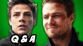 Arrow Season 3 and The Flash Trailer Q&A