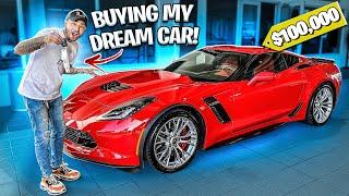 BUYING MY DREAM CAR AT 21 YEARS OLD ! (CORVETTE Z06) | BRAAP VLOGS