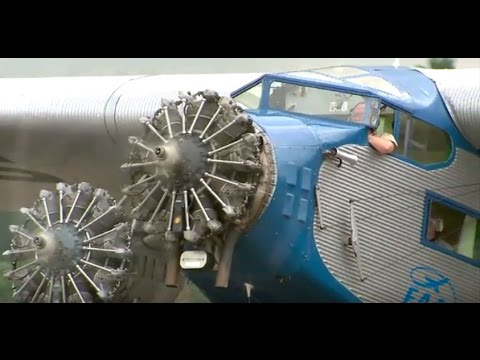 EAA's Ford Tri-Motor Takes to the Skies