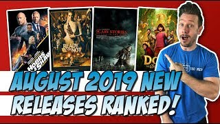 Every August 2019 Movie I Saw Ranked!