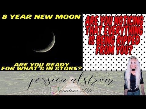 8 year New Moon Forecast with Jessica Alstrom