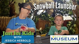 Just for Kids STEM Activities: Snowball Launcher